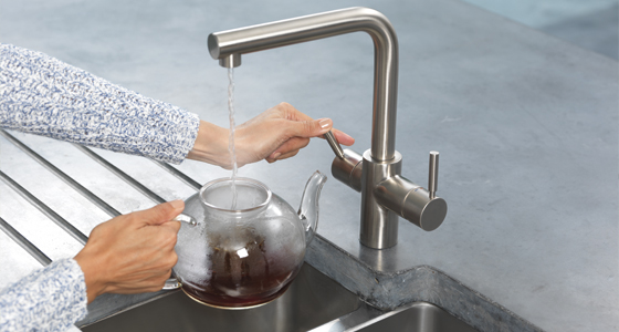 Instant Near Boiling Water Taps For Kitchens Insinkerator Uk